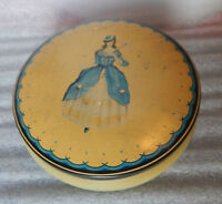 Vintage 1920's Lovells Toffee Rex King Of Toffees Circular Tin - tins - ebay.co.uk