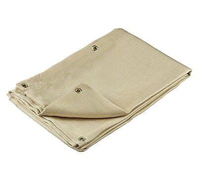 Welding Blanket 6 X 8 Fire Flame Retardant Fiberglass Safety Shield Grommets