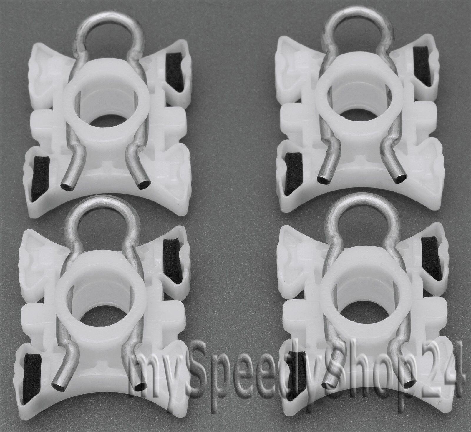 2 x Fensterheber Gleitstück Reparatursatz für BMW 5er E34 7er E32-51321938884