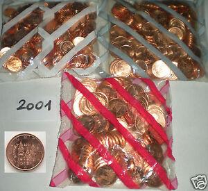 2001 SPANIEN ESPAÑA Kursmünzen 1 Cent & 2 Cent & 5 Cent UNC prägefrisch - <span itemprop='availableAtOrFrom'>Perchtoldsdorf, Österreich</span> - 2001 SPANIEN ESPAÑA Kursmünzen 1 Cent & 2 Cent & 5 Cent UNC prägefrisch - Perchtoldsdorf, Österreich