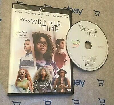 A Wrinkle in Time (DVD 2018) Oprah Winfrey | Mindy Kaling | Chris Pine | Disney](Halloween Movies In French)