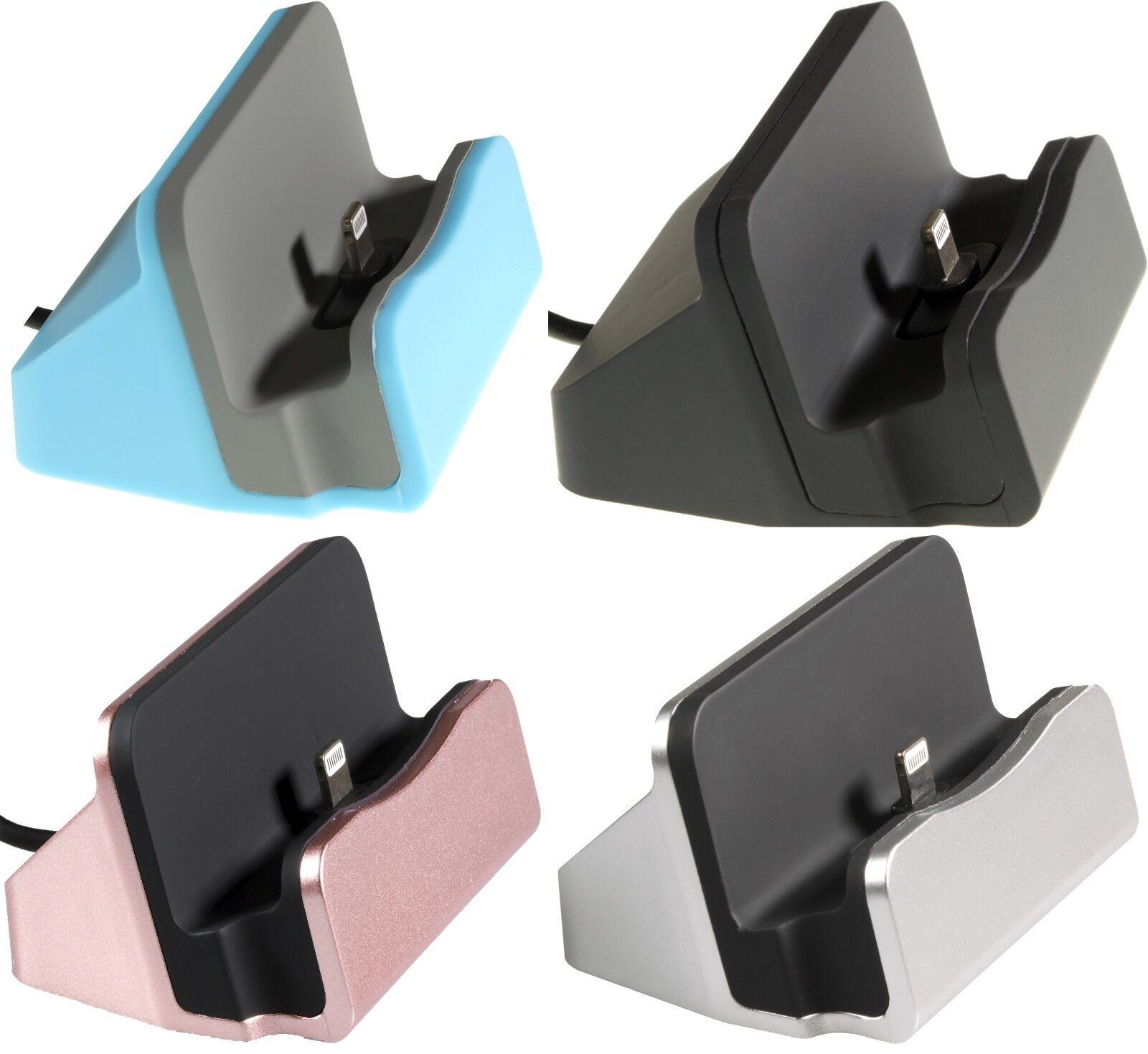 Dockingstation USB Ladestation Ladegerät für iPhone 7 Plus Lightning Sync