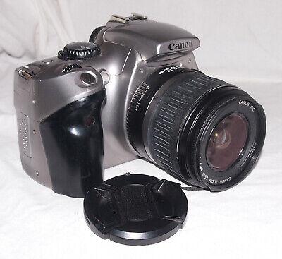 Canon 300D 6MP Digital SLR / DSLR Camera With 18-55mm EF-S II Lens