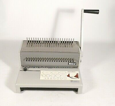 Ibico Kombo Commercial Heavy Duty Comb Punch Binding Machine Combs