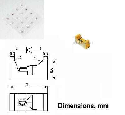 2 Pcs Schottky Varactor Gaas Diode 1.4 - 2.2pf 0.3 - 30ghz 3a618a Ussr Nos