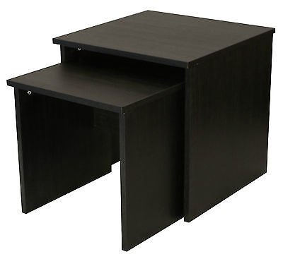 Boldon   Lounge Furniture   Nest of Tables   Modern Table Set   Black Ash