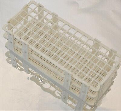 Plastic Lab Test Tube Rack 90 Tubes Diameter 12 Mm New