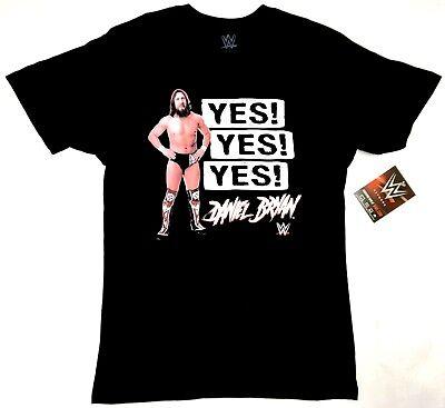 WWE Wrestling SmackDown DANIEL BRYAN YES! YES! YES! T-Shirt NWT (Daniel Bryan Yes Yes Yes T Shirt)