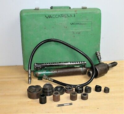 Greenlee 767 Hydraulic Knock Out Punch Die Set W 8 Conduits Accessories