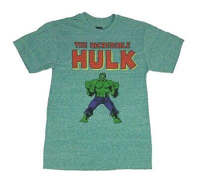 Marvel Comics The Incredible Hulk Avengers Retro Logo Mens T Shirt S-2XL - Hulk Shirt