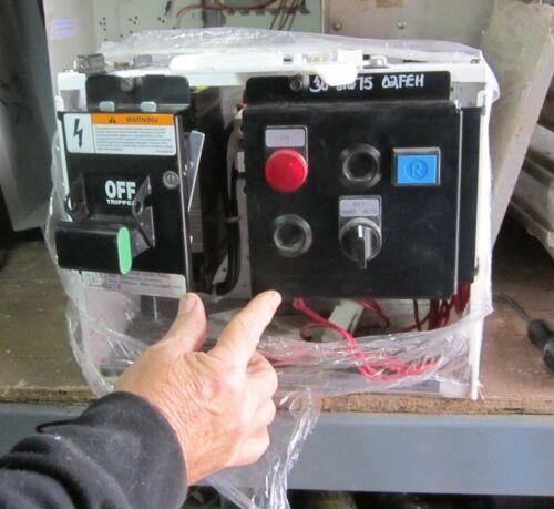 """Siemens Model 95 Size 2 Circuit Breaker Type 12"""" Mcc Bucket 40A ED63A040"""