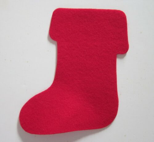 Stocking Felt Shape (pack of 4) Made in the USA