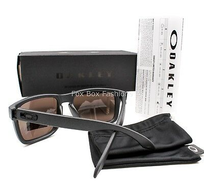 Oakley Oo9102 B5 Holbrook Sunglasses Matte Steel   Prizm Daily   Polarized 57Mm