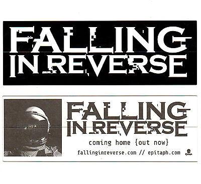 FALLING IN REVERSE Coming Home 2017 Ltd Ed RARE Sticker +FREE Rock Punk Stickers