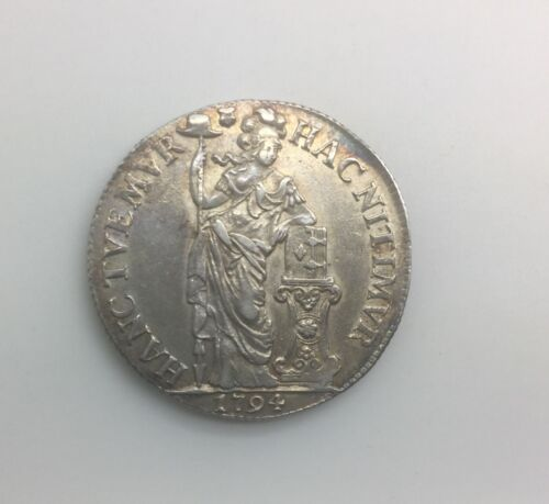 1794 Netherlands Silver 3 Gulden   KM#117 Nice Grade Coin No issues