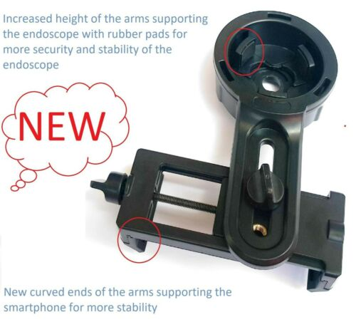 NEW Model!! Smartphone endoscope coupler adapter