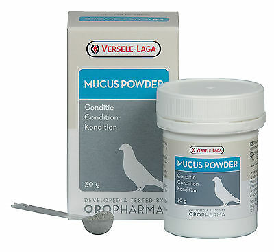 Versele Laga Oropharma Mucus Powder Racing Pigeons 30g Respiratory Treatment