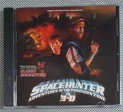 Elmer Bernstein - Spacehunter Adventures In The Forbidden Zone Varese Club CD Adventure Club-cd