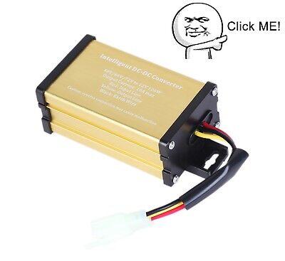 Golf Cart Dc Voltage Converter Regulator Voltage Reducer 48v Volt To 12v 10a