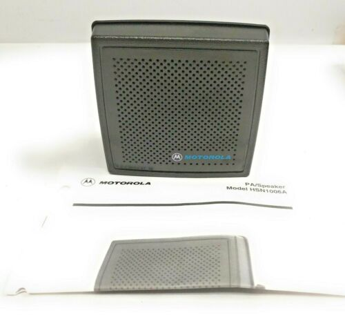 New Motorola HSN1006A 6 Watt Amplified External Speaker for XTS/MTP Mobile Radio