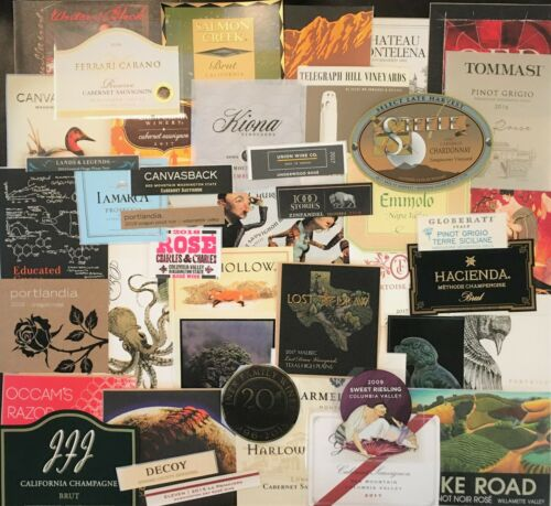50+ WINE LABELS  New
