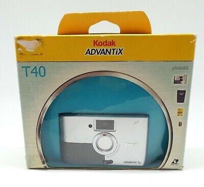 Kodak Advantix T40 Camera with case, 24mm Lens, boxed