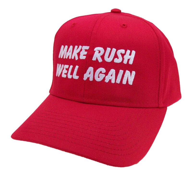 Make Rush Well Again Rush Limbaugh Embroidered Cap Hat #40-2023r