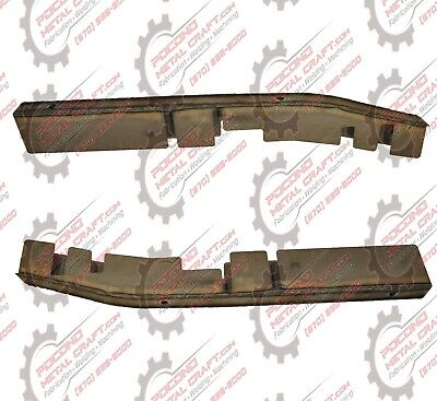 Set Ford F150 Crew Cab Extended Center Skid Plates Frame Repair  RH LH 2WD -