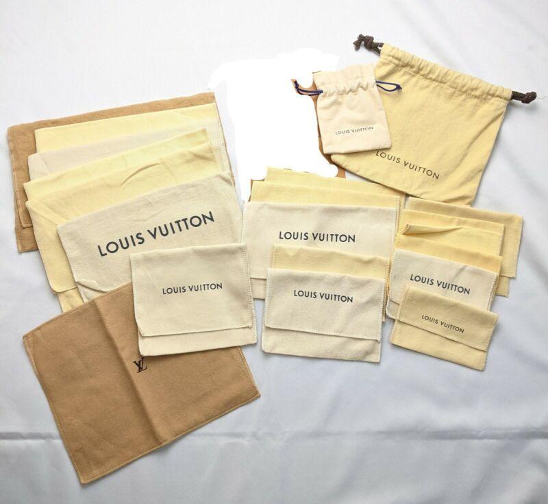 Auth LOUIS VUITTON Dust Bag Mixed Set 21 F/S Japan