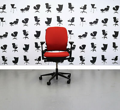 Refurbished Steelcase Leap V2 Chair - Calypso - YP019