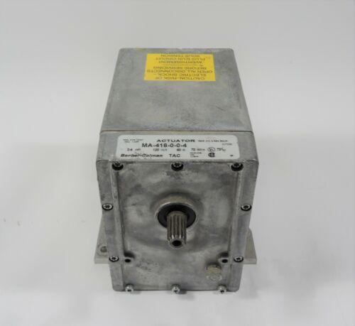 Barber Colman Invensys Actuator 120 VAC MA-418-0-0-4