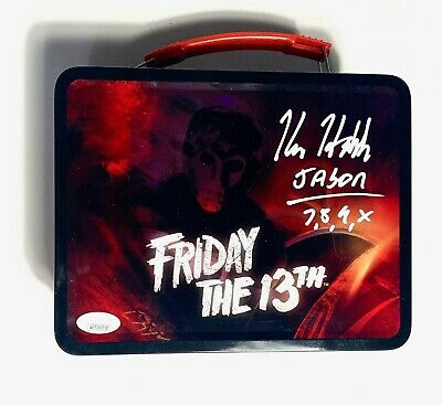 Kane Hodder Signed Jason Voorhees Friday the 13th Metal