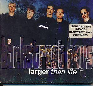 Larger Than Life Backstreet Boys CD Single NO Postcards | eBay
