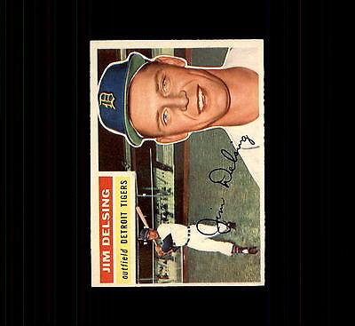 1956 Topps 338 Jim Delsing EX-MT #D410826