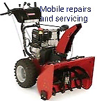 Mobile snowblower blower servicing and repairs