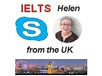 Online IELTS/English Tutor, £48 = 5 Lessons, 20 min Free Trial on Skype- British Teacher