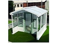 upvc garden summerhouse less than half price.