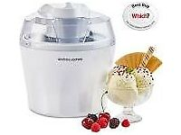 Ice Cream Maker 1.45 L a present that has never been used.