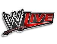 wwe live   ringside (1 ticket) 2nd row