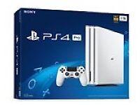 PS4 Pro 4K gaming glacier white