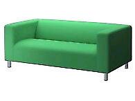 Housse de canapé Klippan verte