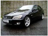lexus is200 black 55 plate 2000cc parts available