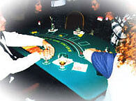FUN CASINOS, GREAT FOR CHRISTMAS PARTIES