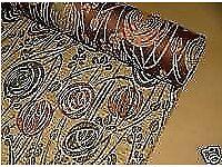 Rennie MackIntosh Luxury Heavy Velour Fabric For Sale (22 Metres)