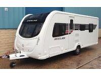 2011 sterling Eccles Moonstone touring caravan