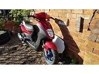 50cc MOPED SCOOTER MOTORBIKE MOTORCYCLE SYM SYMPLY 50 PERFECT FIRST SCOOTER
