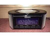 Roberts Digital Clock Radio with dock for iPod touch fourth generation