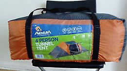 Halfords 4 man tunnel tent..
