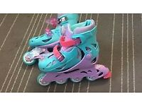 Roller Blades Frozen Like New Regulatory Size 30-33 EU