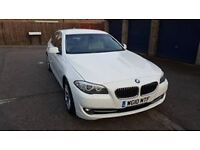 WHITE BMW SERIES 5 VERY CLEAN AND TIDY